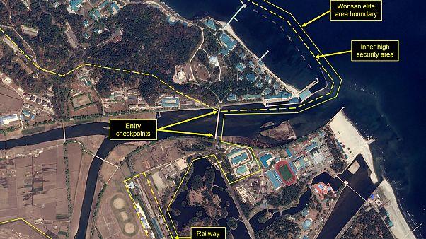 وسط تكهنات بشأن صحته.. رصد قطار لكيم جونغ أون في مدينة ساحلية شرق البلاد