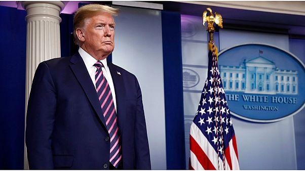 """ترامب يرفض """"إضاعة الوقت"""" بعقد مؤتمرات صحافية بعد الجدل الذي أثاره مؤخرا"""