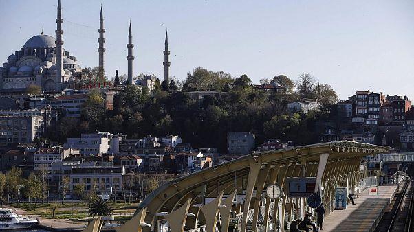 Golfinhos aproximam-se de Istambul