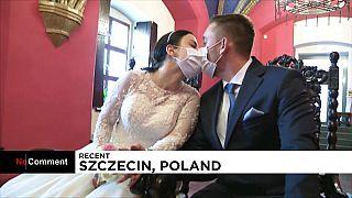 Πολωνία: Γάμοι σε καιρούς πανδημίας