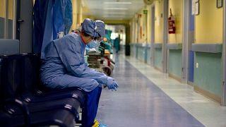 ممرضة في مستشفى إيطالي