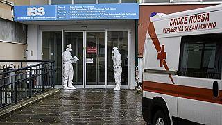 Ein Krankenhaus in San Marino