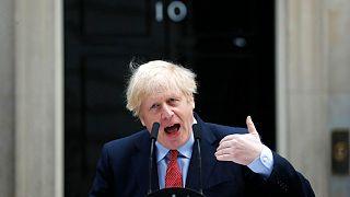 Guéri du coronavirus, Boris Johnson de retour à son bureau