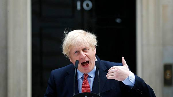 Boris Johnson zurück in Downing St. 10