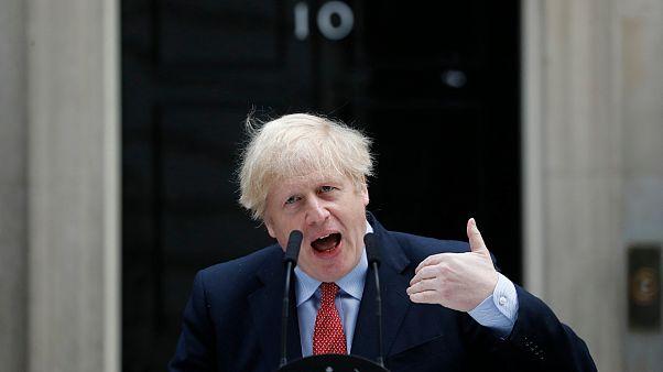 جانسون پس از بازگشت به کار: بریتانیا همچنان در خطر حداکثری شیوع کرونا قرار دارد