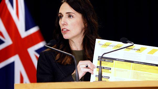 Virus Outbreak New Zealand Elimination