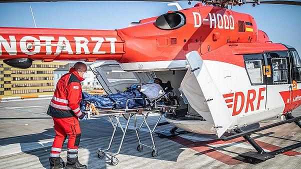 A franca állampolgárságú, 68 éves, koronavírusos Mohammed S.-t szállítják németországi kezelésre