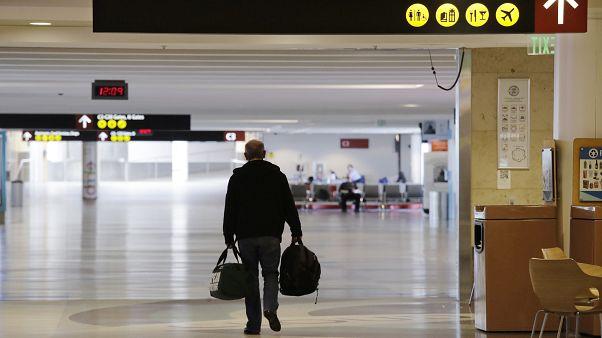 Virus Outbreak SeaTac Airport