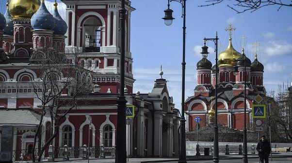 كنيسة القديس جورج في موسكو - 2020/04/06