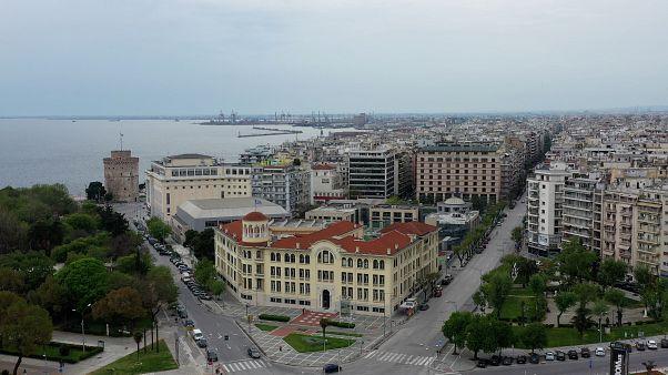 Lock Down: Η πανέμορφη αλλά έρημη Θεσσαλονίκη από ψηλά