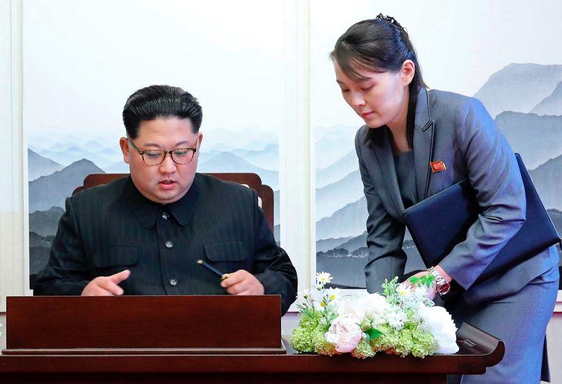Korea Summit Press Pool via AP
