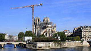Las obras de reconstrucción de Notre Dame retoman su curso