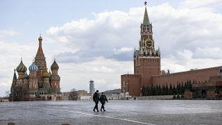 Rusya'nın başkenti Moskova'daki Kızıl Meydan