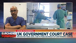 Coronavirus: UK government 'disrespecting health workers' by not revealing pandemic study findings