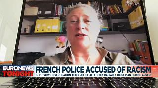 French police face racism allegations over Paris arrest