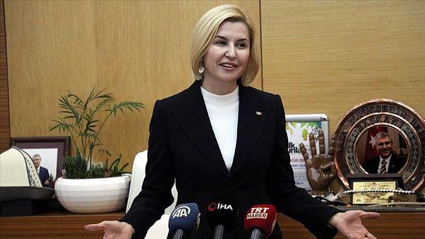 """Moldova'ya bağlı Gagauz Özerk Yeri Başkanı İrina Vlah, """"27 Nisan Gagauz Ana Dili Günü"""" dolayısıyla görüntülü mesaj paylaştı."""