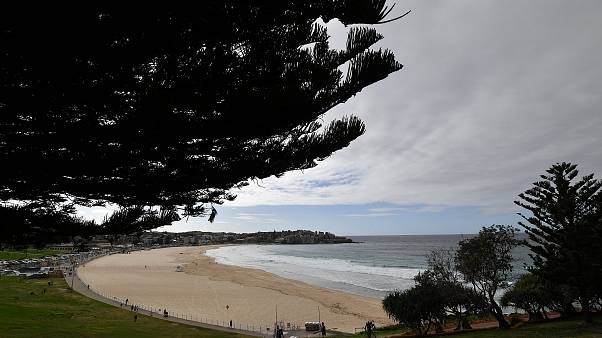 مشهد عام للشاطئ في سيدني - أستراليا - 2020/04/28