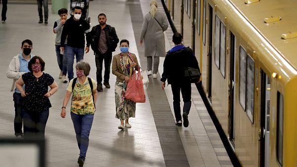 U-Bahn in Berlin, hier gibt es seit Montag Maskenpflicht