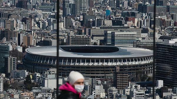 Tokyo'daki Yeni Ulusal Stadyum ertelenen Olimpiyatlar gerçekleştirilirse açılış gösterilerine ev sahipliği yapacak