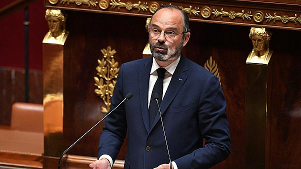 Le Premier ministre français, Edouard Philippe, à l'Assemblé nationale, le 28 avril 2020.