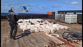 Golpe al narcotráfico en Galicia con 28 detenidos y cuatro toneladas de cocaína incautadas