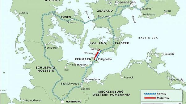 In 10 Min. nach Deutschland: Dänemark beginnt 7-Mrd.-Projekt Fehmarnbelttunnel