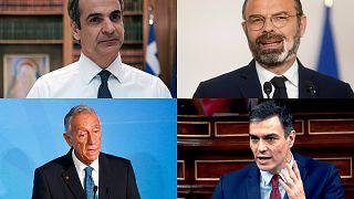 Países europeus anunciam planos de desconfinamento