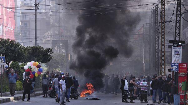 Ливан: протесты на фоне карантина