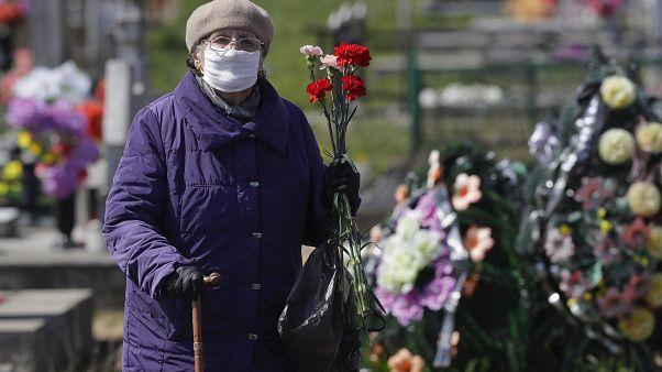 Virus Outbreak Belarus Religion