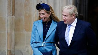 İngiltere Başbakanı Boris Johnson ve nişanlısı Carrie Symonds