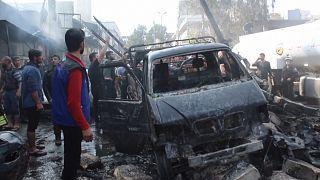 Συρία: Τουλάχιστον 46 νεκροί από έκρηξη παγιδευμένου βυτιοφόρου