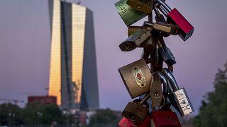 Virus Outbreak Germany ECB FRANKFURT