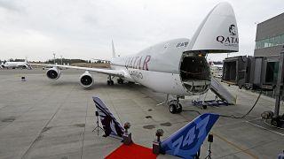 Boeing Qatar Delivery