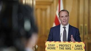 Außenminister Dominic Raab