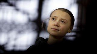 الناشطة البيئية غريتا تونبرغ