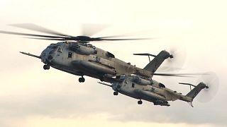 Helicóptero canadiano sofre acidente no Mediterrâneo