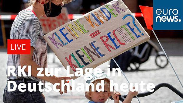 """Coronavirus in Deutschland heute: """"Geben Sie dem Virus keine Chance"""""""