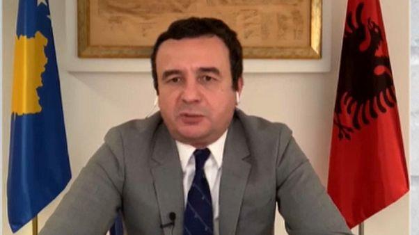 Koszovói miniszterelnök: nem hiszem, hogy nekünk kéne adnunk földet Szerbiának