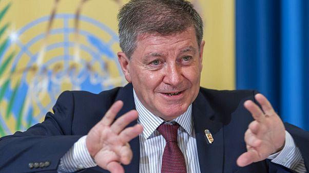 Guy Ryder, General Director of the International Labour Organisation (ILO)