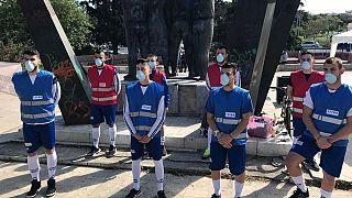 Θεσσαλονίκη: Ποδοσφαιρική... διαμαρτυρία για την καύση απορριμάτων στο ΤΙΤΑΝ