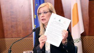 Η Υπουργός Εργασίας της Κύπρου, Ζέτα Αιμιλιανίδου
