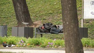 Московские бездомные жалеют волонтеров