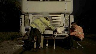 Camionneurs européens : entre pandémie et dumping social, la lutte pour leurs droits