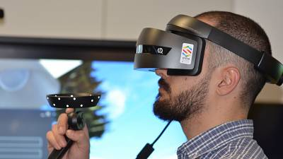 Current VR technology doesn't always offer the sensation of touch.