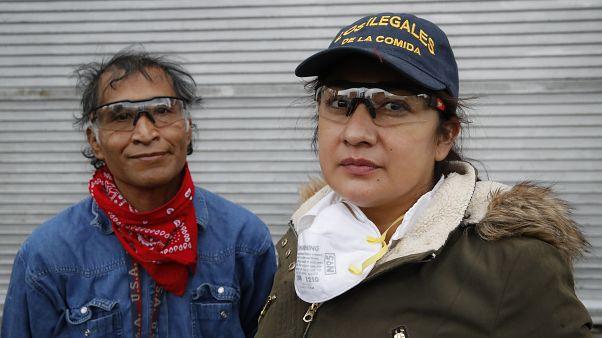 De origen mexicano, Sandra Pérez y Fransisco Rámirez ayudan a los inmigrantes latinos en situación irregular