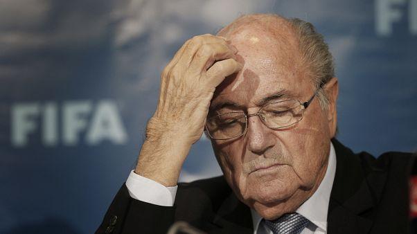 Soccer FIFA Investigation Blatter