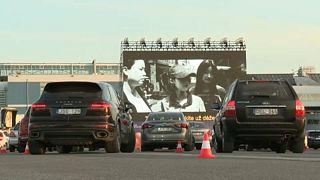 Autósmozivá alakult a vilniusi repülőtér