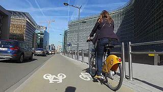Des pistes cyclables supplémentaires à Bruxelles pour faciliter le déconfinement