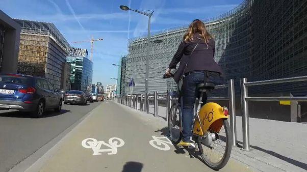 Mais 40 km de ciclovia previstos para Bruxelas