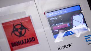 Virus Outbreak Washington